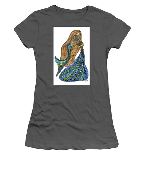 Aquarius Women's T-Shirt (Athletic Fit)