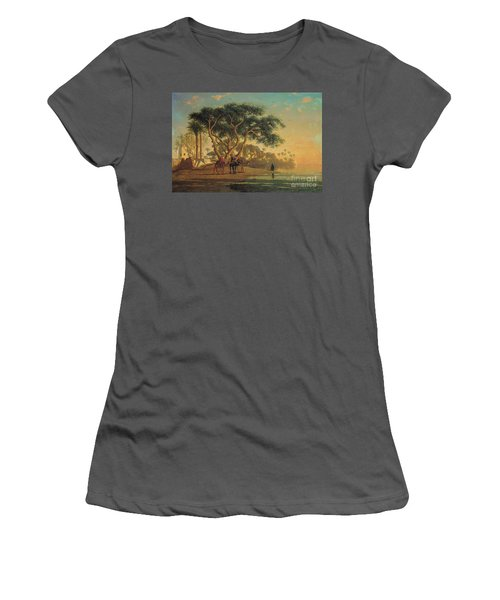 Arab Oasis Women's T-Shirt (Athletic Fit)