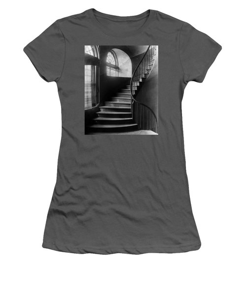 Arching Stairwell Women's T-Shirt (Athletic Fit)