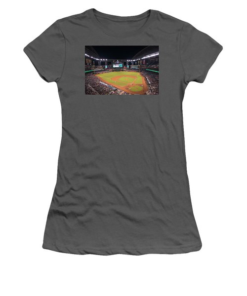 Arizona Diamondbacks Baseball 2591 Women's T-Shirt (Athletic Fit)