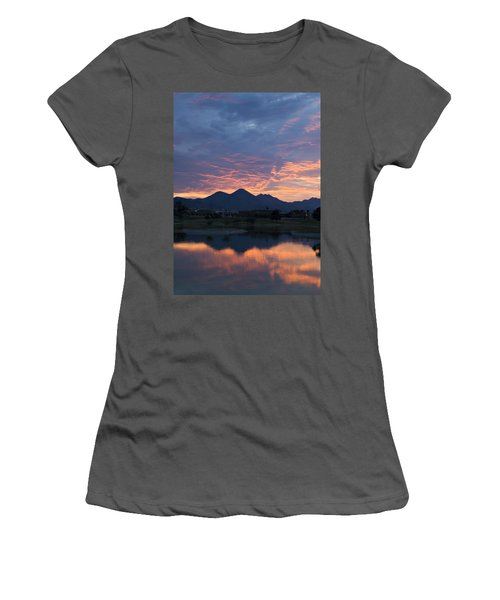 Arizona Sunset 2 Women's T-Shirt (Athletic Fit)