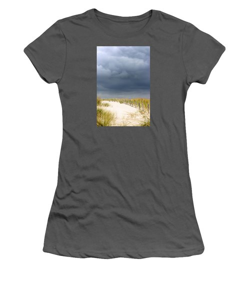 Women's T-Shirt (Junior Cut) featuring the photograph Around The Bend by Dana DiPasquale