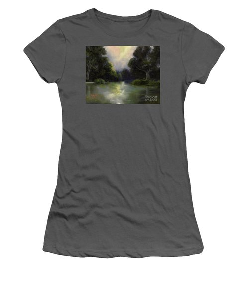 Around The Bend Women's T-Shirt (Junior Cut) by Marlene Book