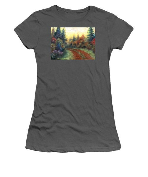 Around The Bend 01 Women's T-Shirt (Athletic Fit)