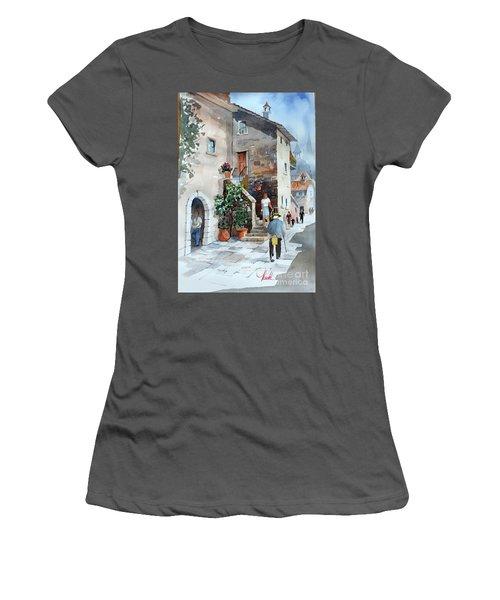 Arrezo-3 Women's T-Shirt (Athletic Fit)