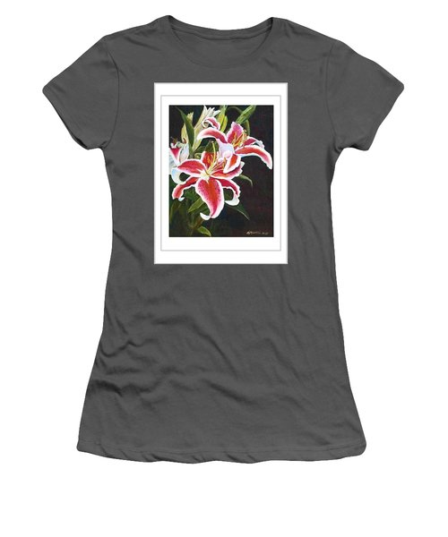 Art Card - Lilli's Stargazers Women's T-Shirt (Athletic Fit)