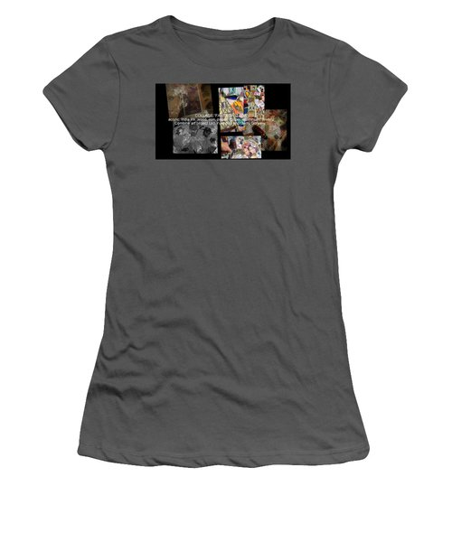 art collage Italy Women's T-Shirt (Athletic Fit)