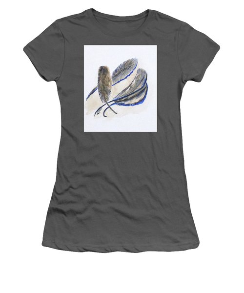 Art Doodle No. 21 Women's T-Shirt (Athletic Fit)