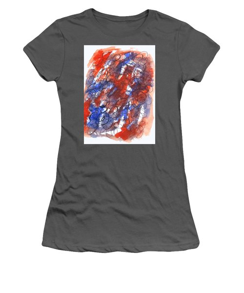 Art Doodle No. 28 Women's T-Shirt (Athletic Fit)
