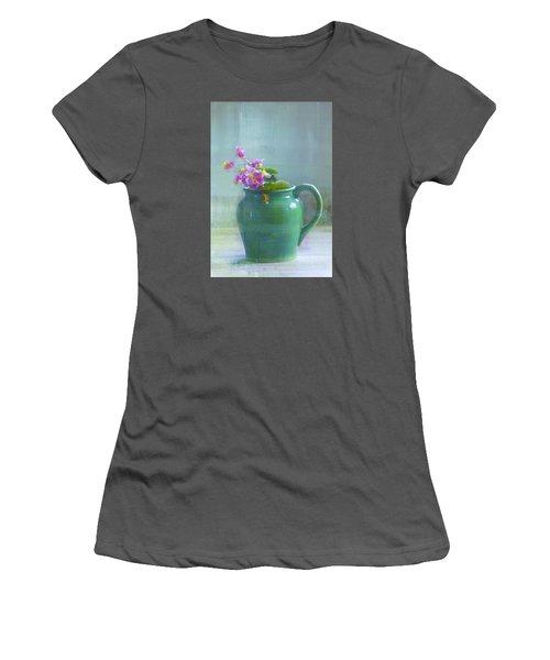 Art Of Begonia Women's T-Shirt (Junior Cut) by John Rivera