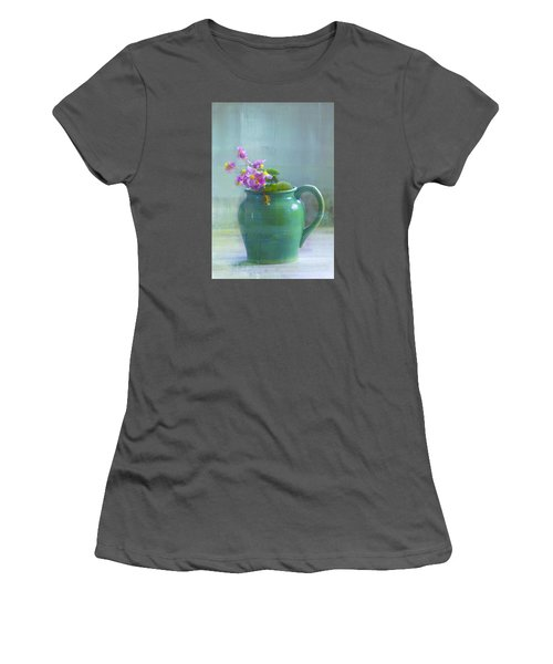 Art Of Begonia Women's T-Shirt (Athletic Fit)