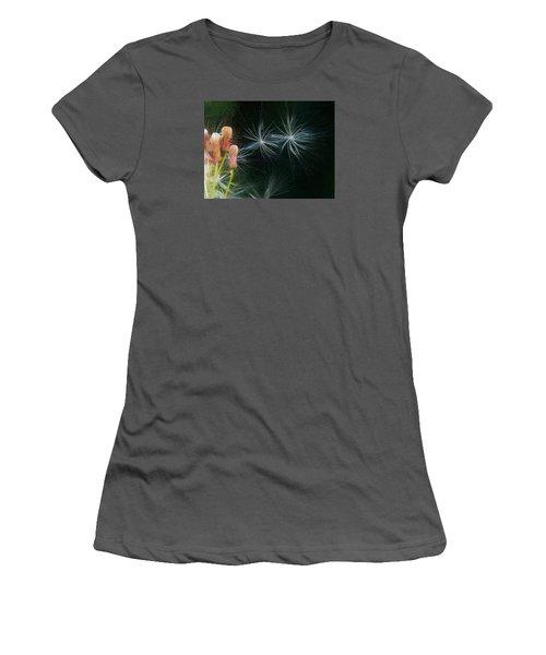 Artistic  Air Dance Women's T-Shirt (Junior Cut) by Leif Sohlman