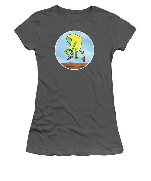 Skip Women's T-Shirt (Junior Cut) by Uncle J's Monsters