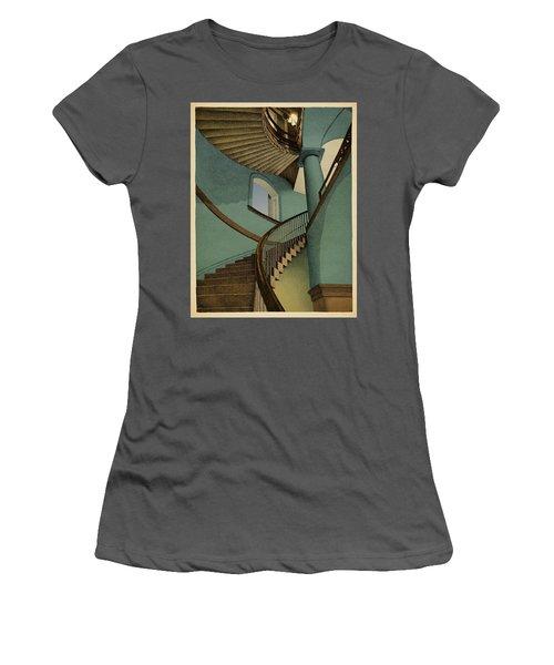 Women's T-Shirt (Junior Cut) featuring the drawing Ascending by Meg Shearer