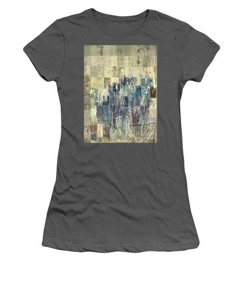 Women's T-Shirt (Junior Cut) featuring the painting Ascension - C03xt-159at2b by Variance Collections