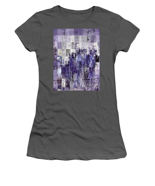 Women's T-Shirt (Junior Cut) featuring the painting Ascension - C03xt-166at2c by Variance Collections