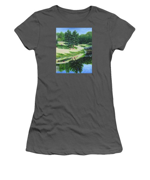 Asheville Reflections	 Women's T-Shirt (Athletic Fit)