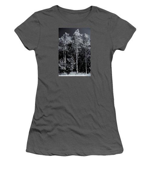 Aspen Drama Women's T-Shirt (Junior Cut) by Shelly Gunderson