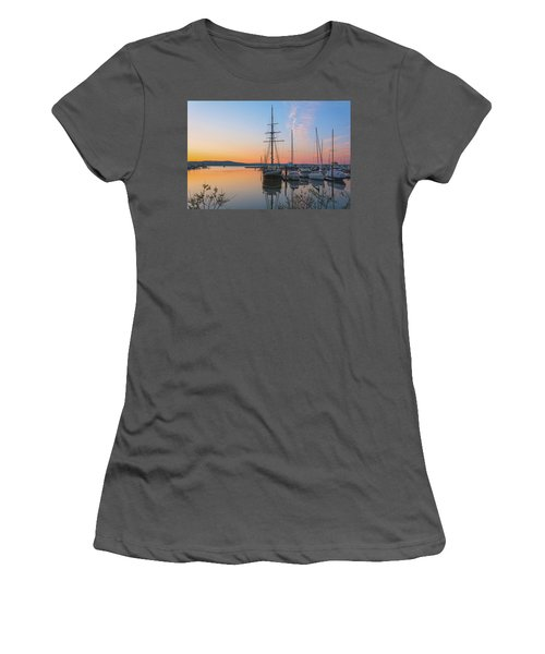 At Rest At Dawn Women's T-Shirt (Athletic Fit)