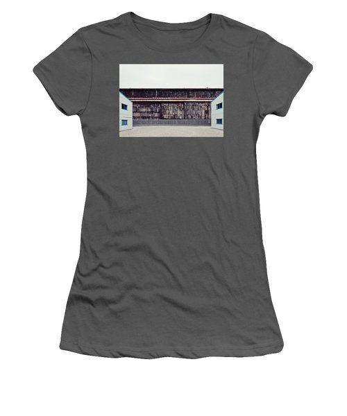At The Edge Of Town Women's T-Shirt (Athletic Fit)