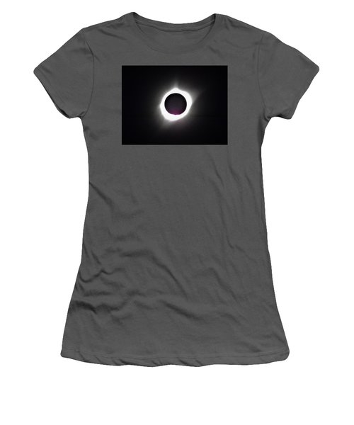 At The Moment Of Totality Women's T-Shirt (Athletic Fit)