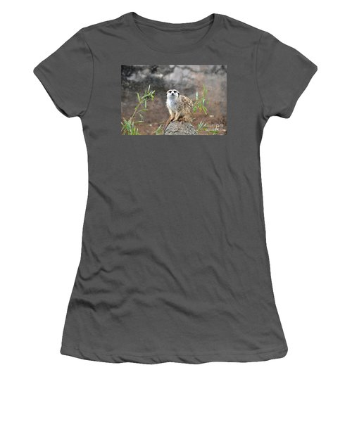 Women's T-Shirt (Junior Cut) featuring the photograph At The Watch by John Black