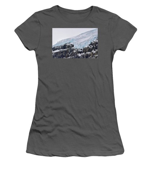 Athabasca Glacier No. 80-1 Women's T-Shirt (Athletic Fit)
