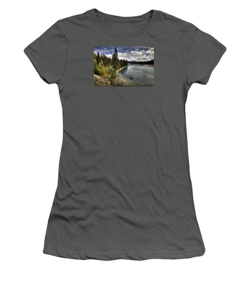 Athabasca River Women's T-Shirt (Athletic Fit)
