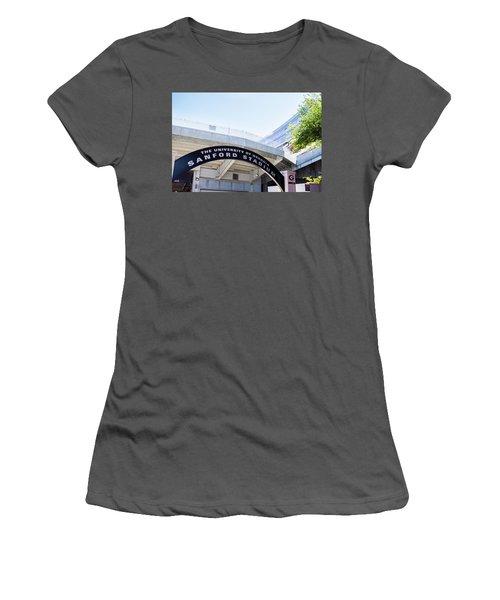 Women's T-Shirt (Junior Cut) featuring the photograph Athen's Ritual by Parker Cunningham