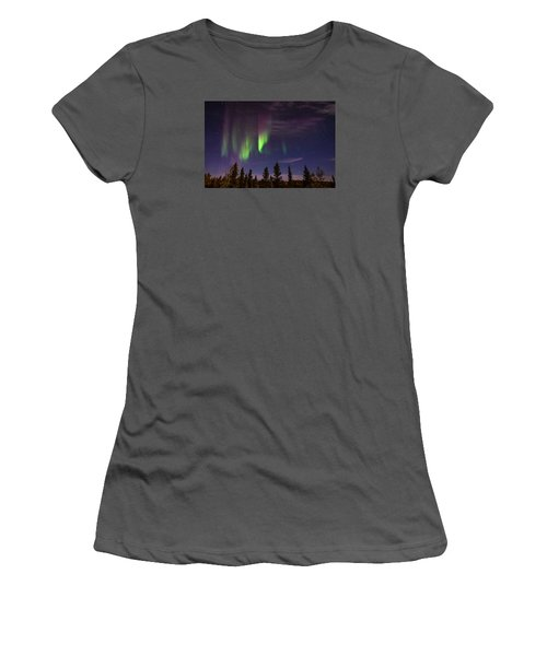Aurora Nights Women's T-Shirt (Athletic Fit)