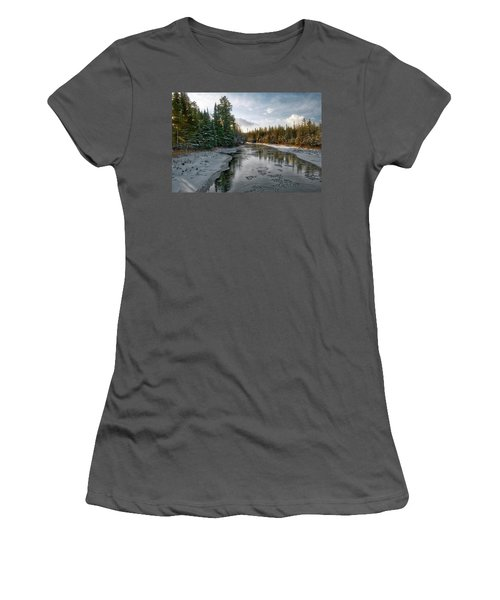 Ausable River 1282 Women's T-Shirt (Junior Cut) by Michael Peychich