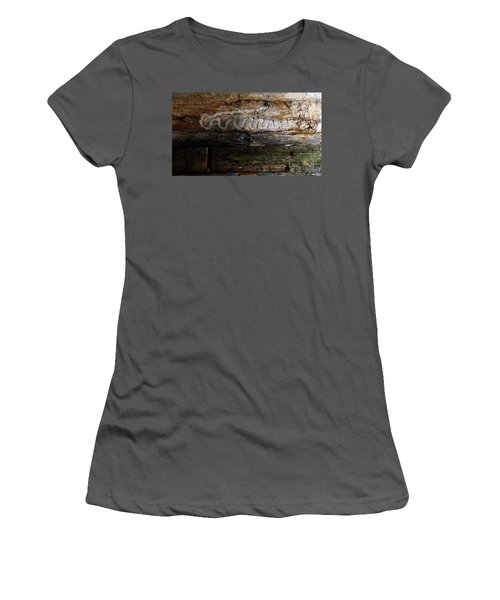 Autograph Of A Cold Blooded Killer Women's T-Shirt (Athletic Fit)