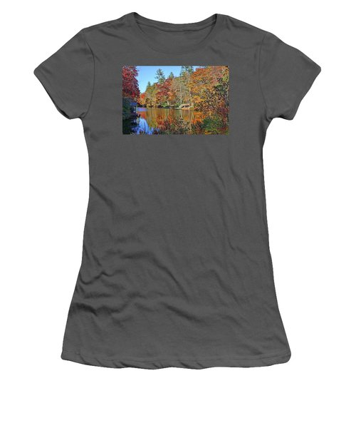 Autumn At The Lake 2 Women's T-Shirt (Athletic Fit)