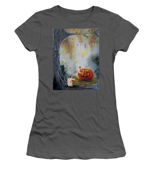 Autumn Color Celebration Women's T-Shirt (Athletic Fit)