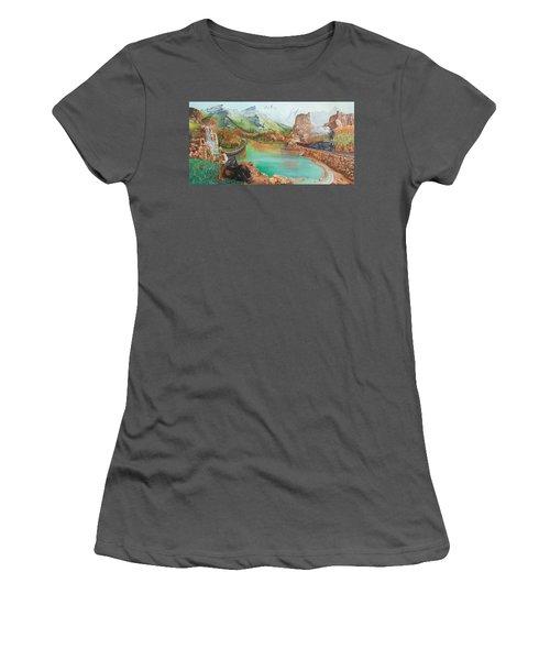 Autumn Women's T-Shirt (Junior Cut) by Farzali Babekhan