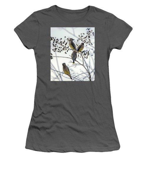 Autumn Friends Women's T-Shirt (Athletic Fit)