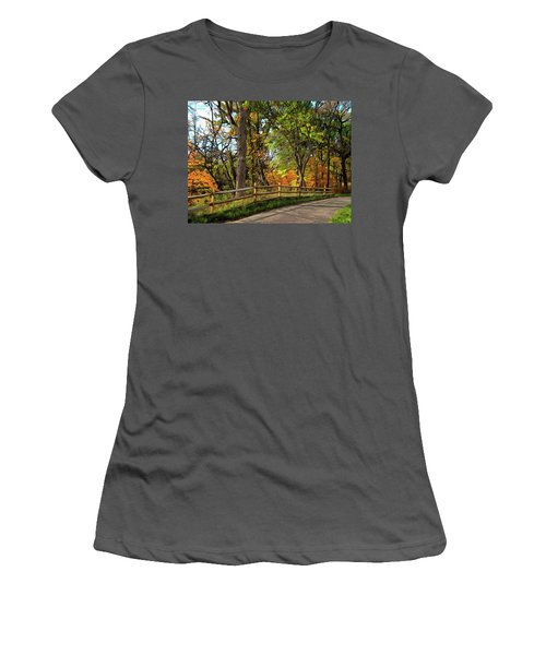 Autumn Song Women's T-Shirt (Athletic Fit)