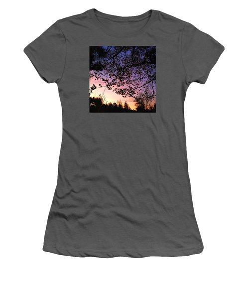 Autumn Sunrise Women's T-Shirt (Athletic Fit)