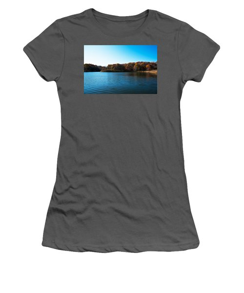 Autumn The In Loess Hills Women's T-Shirt (Athletic Fit)