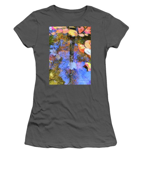 Autumn Watermark Women's T-Shirt (Athletic Fit)