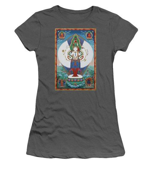 Avalokiteshvara Lord Of Compassion Women's T-Shirt (Athletic Fit)
