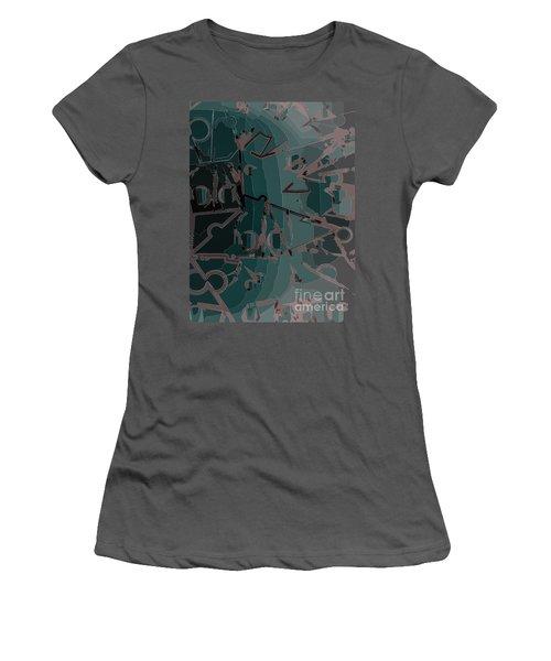 Babble Women's T-Shirt (Junior Cut) by Moustafa Al Hatter