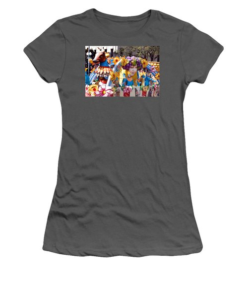 Bacchus Mardis Gras Float Women's T-Shirt (Athletic Fit)
