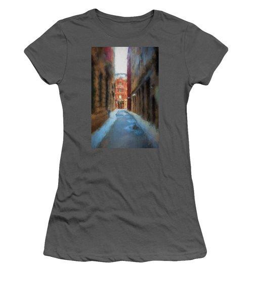Back Bay Boston Women's T-Shirt (Athletic Fit)