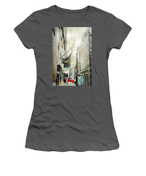 Women's T-Shirt (Junior Cut) featuring the photograph Back To You by Diana Angstadt