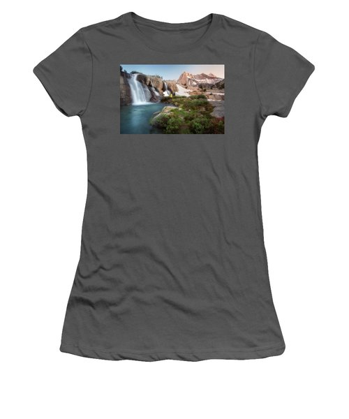 Backcountry Views Women's T-Shirt (Junior Cut) by Nicki Frates
