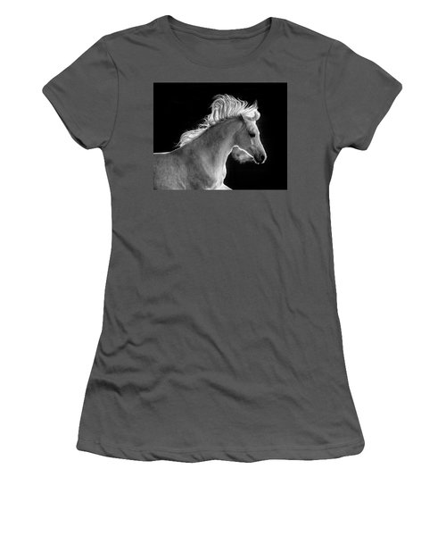 Backlit Arabian Women's T-Shirt (Junior Cut) by Wes and Dotty Weber