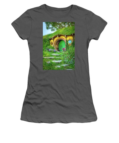 Bag End Women's T-Shirt (Junior Cut) by Racheal Christian