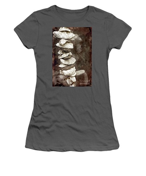 Balanced Women's T-Shirt (Junior Cut) by Ellen Cotton