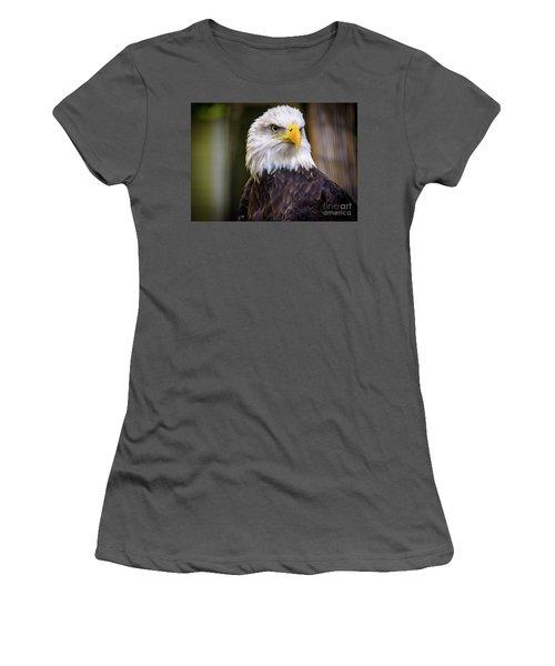 Bald Eagle Women's T-Shirt (Athletic Fit)